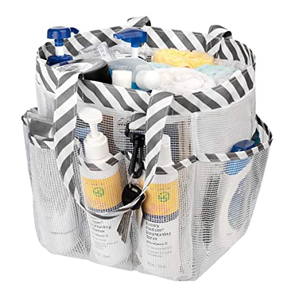 Amazoncom Sanno Mesh Shower Caddy Tote Portable Quick Dry Shower