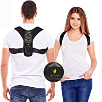 Posture Corrector for Women and Men - Adjustable Shoulder Support Brace - Back Straightener - Relief from Neck and…