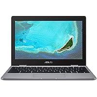 ASUS Chromebook C223NA-GJ0014 11.6 Inch HD Notebook (Grey) (Intel Celeron N3350 Processor, 4 GB RAM, 32 GB eMMC, Chrome OS)