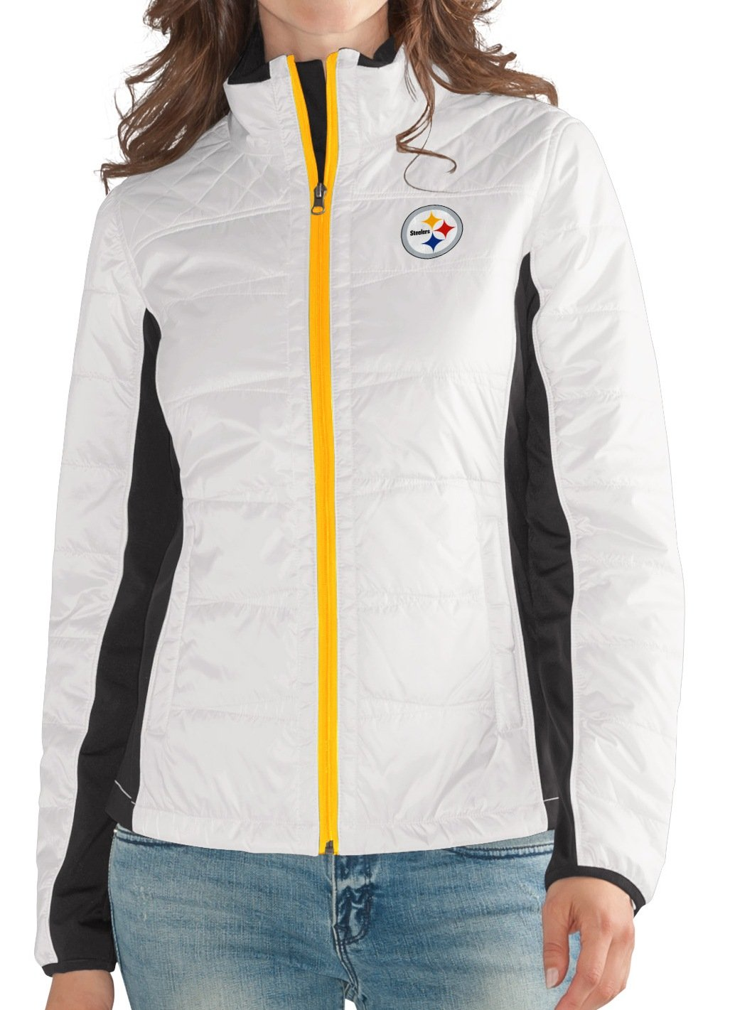 new concept 48c85 e1e87 Amazon.com : Pittsburgh Steelers Women's NFL G-III