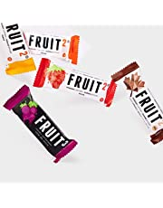 FRUIT2 Energy Fruit Chew Jungle Pack - Variety Pack - 1 of each 5 flavours (5 x 30 g bars)