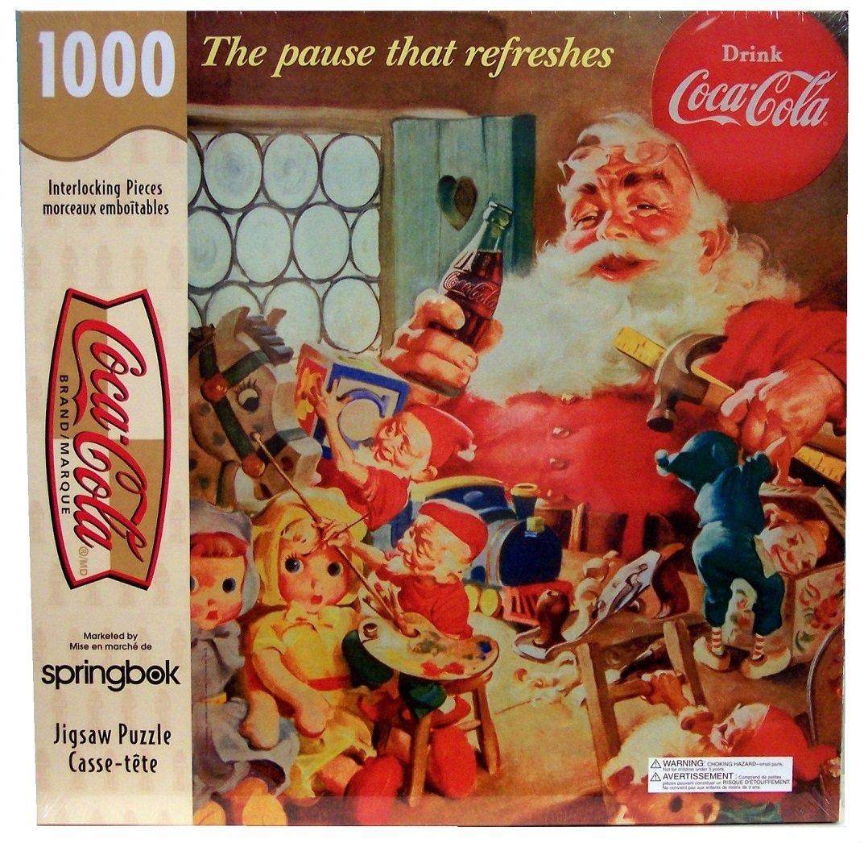 echa un vistazo a los más baratos Coca-Cola, The Pause That Refreshes; 1000 Piece Piece Piece Puzzle  marcas de moda