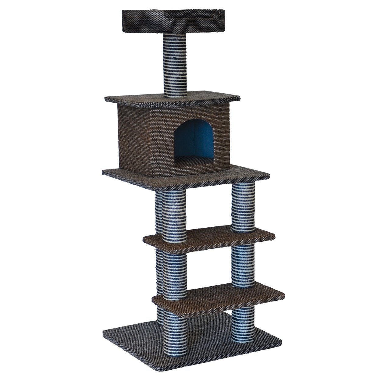 Animal Treasures 14853 Cat Tree Multi Level Scratcher, 51