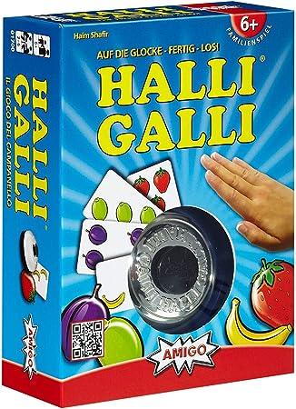Amigo 1700 Halli Galli - Juego de Mesa [Importado de Alemania]: Shafir, Haim: Amazon.es: Juguetes y juegos