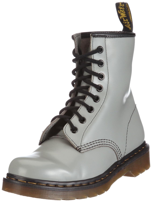 Dr. Martens 1460 8 Eye Boot BROWN 11822212 Unisex - Grey) Erwachsene Stiefel Grigio (Smooth Grey) - eb2225