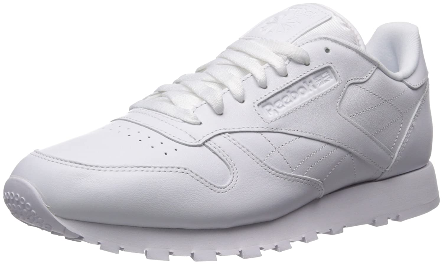 Reebok Men's Classic Leather Sneaker B00X5T87AS 6 M US|White/White/White