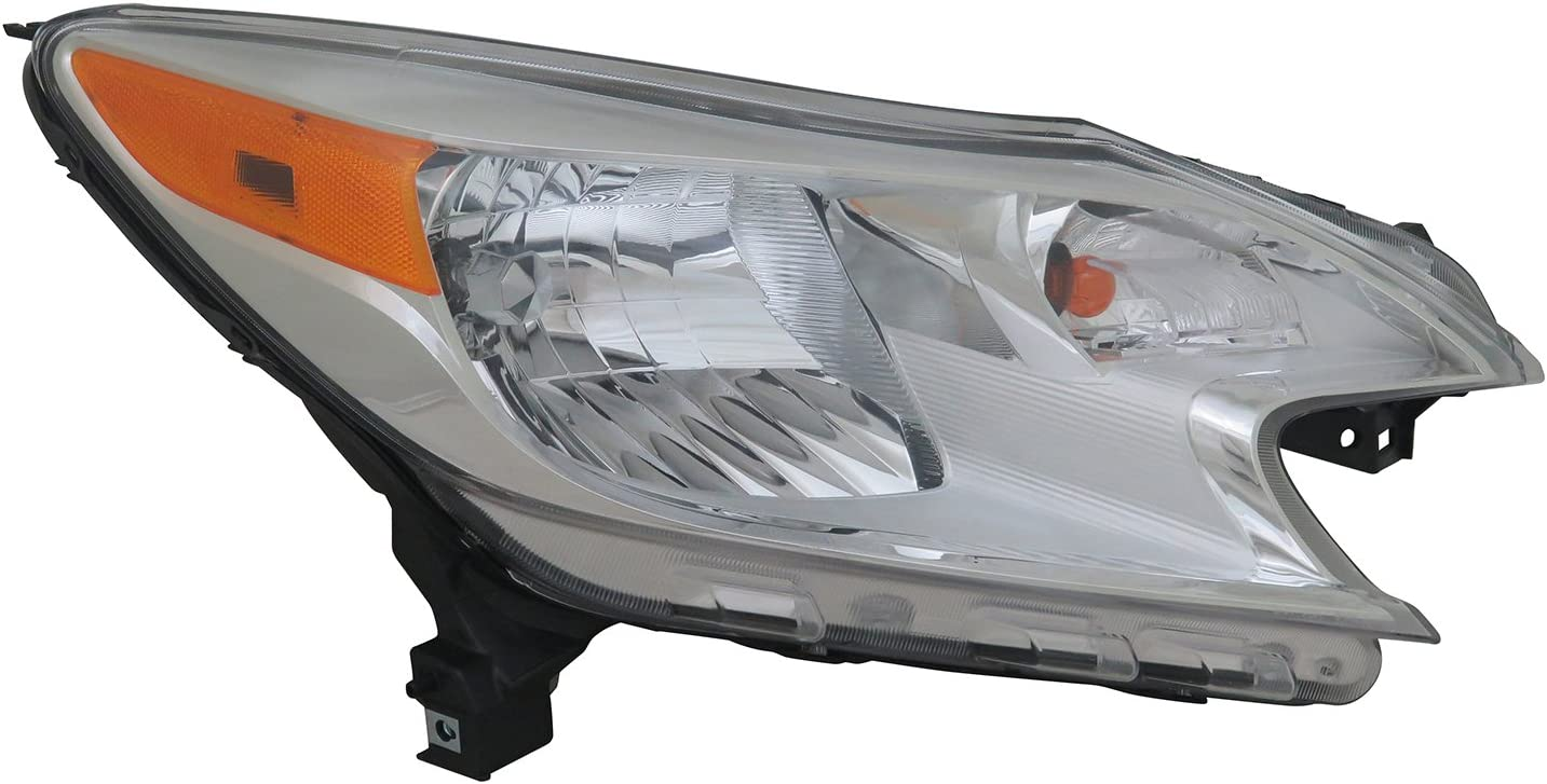 TYC 20-9477-00 Nissan NV200 Right Replacement Head Lamp Pack of 1