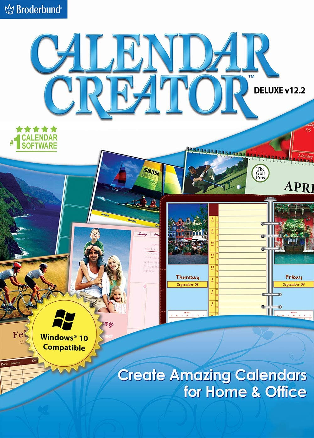Calendar Creator Deluxe v12.2 [PC Download] 71i-03dmgSL