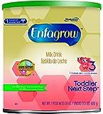 Enfagrow Toddler Next Step Vanilla Powder, 24 Ounce Can, Pack of 4