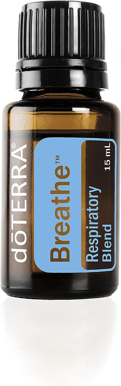 doTERRA Breathe Essential Oil Respiratory Blend 15 ml (Pack of 2)