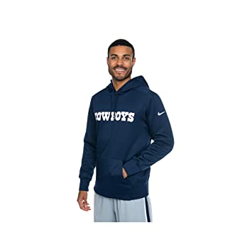 cheap for discount 3ed42 8e65d Dallas Cowboys Nike Performance Circuit Wordmark Hoody