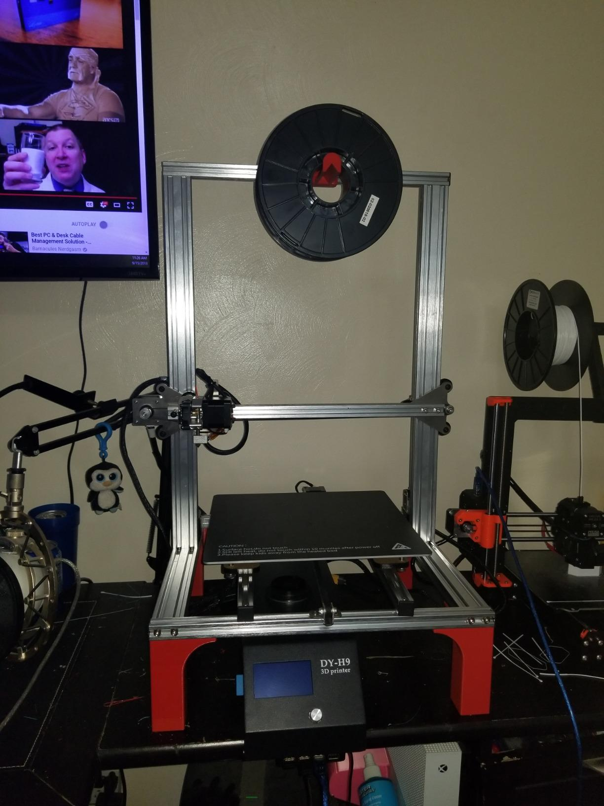 3D Printer, Aluminum Prusa i3 DIY Pre-Assembly 3D Printer Kit with
