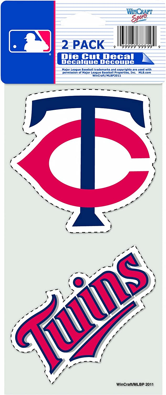 MLB 2-Piece Die-Cut Decal 4 x 8
