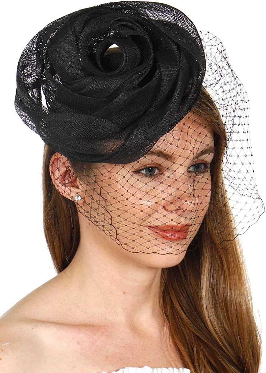 Fascinators for Women Tea Party Hats Church Hats Kentucky Derby Hats Dress Hat 1920s Accessories 1920s Headpiece for Women