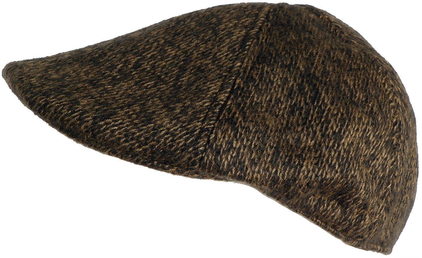 Geoffrey Beene Knit Ivy Scally Cap 6 Panel Duck Bill Driving Hat