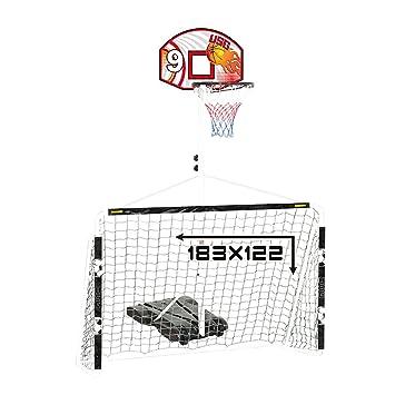 0b0623c1b5b3f CDTS - CDTS Ensemble Multi-Jeux, Panneau de Basket + But de Foot ...