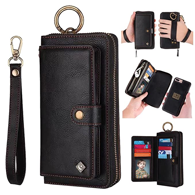 iphone 8 plus purse case