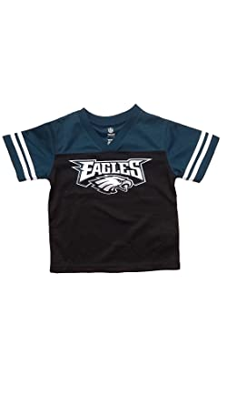 fcb2a03e60c Philadelphia Eagles Black Youth Team Apparel V Neck Jersey (X-Large 14/16