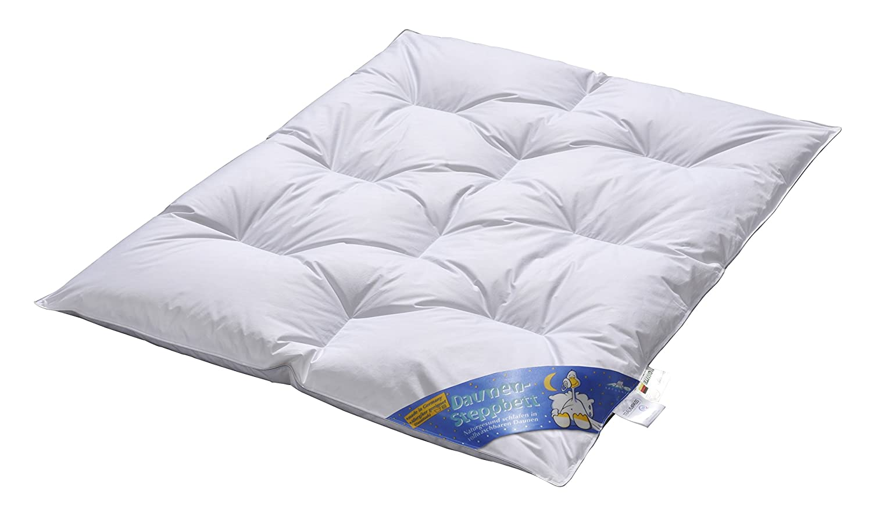 Aro Artländer 9043100 - Edredón para cama de bebé (plumas y plumón 15%, lavable a 60°, 100 x 135cm)