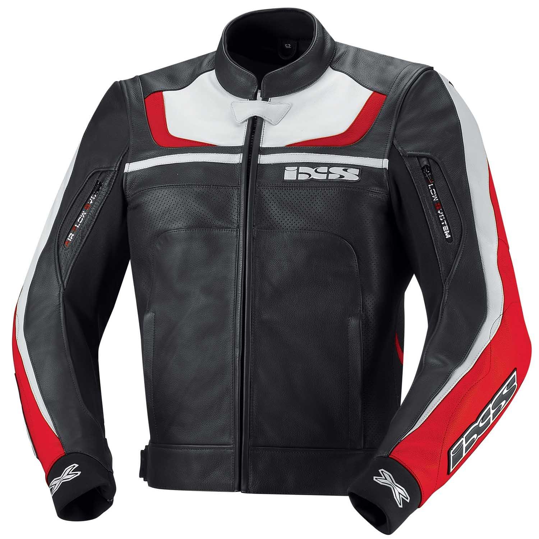 IXS Shertan - Chaqueta de cuero para moto - negro, 50: Amazon.es: Coche y moto