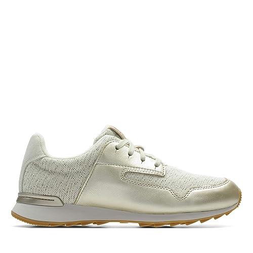 Clarks Women's Floura Mix Low Top Sneakers