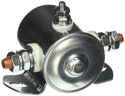 amazon com: starter solenoid switch 12 volt 3 terminal heavy duty winch  marine: automotive