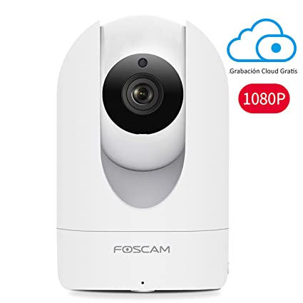 Cámara IP WiFi HD Foscam R2/W, Vigilancia Interior. 8H GRABACIÓN EN LA
