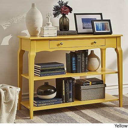 Phenomenal Amazon Com Inspire Q Modern Daniella Console Sofa Table Tv Unemploymentrelief Wooden Chair Designs For Living Room Unemploymentrelieforg