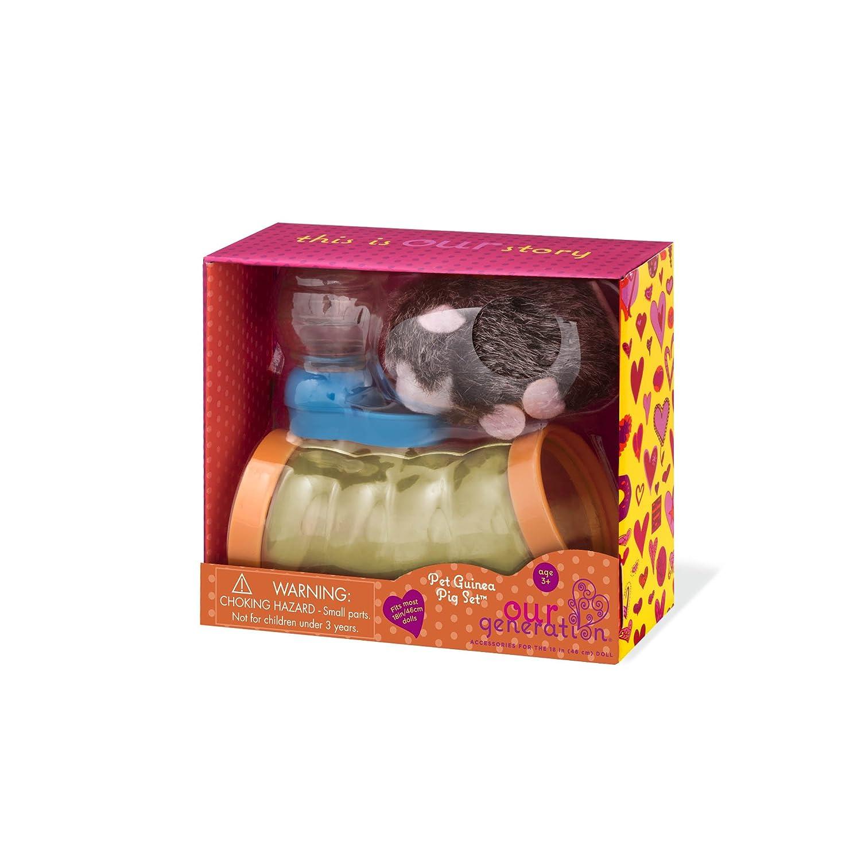 "18"" Doll Pet BUNNY RABBIT Food Set for Our Generation American Girl Boy Vet Dr"
