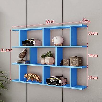 Amazon Com Fyh Wall Mounted Bookshelf Wall Shelf Partition
