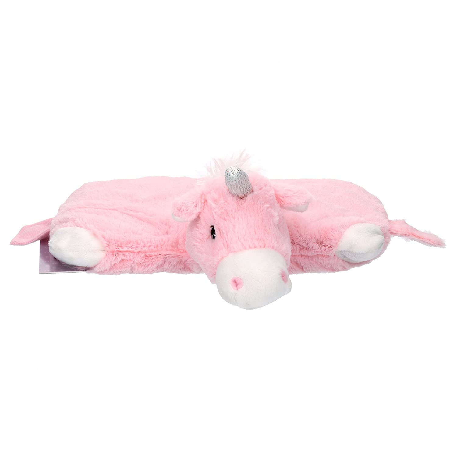 Greenlife Value Warmies Stuffed Heat Pillow Unicorn Pink with Natural Millet and Lavender Filling, Microwave, Warming + Soothing Heat Teddy