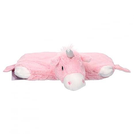 Warmies Multi Cojín de calor Unicornio Rosa con relleno de lavanda de mijo Natural, Térmica de plástico animales para el microondas, wärmend + ...
