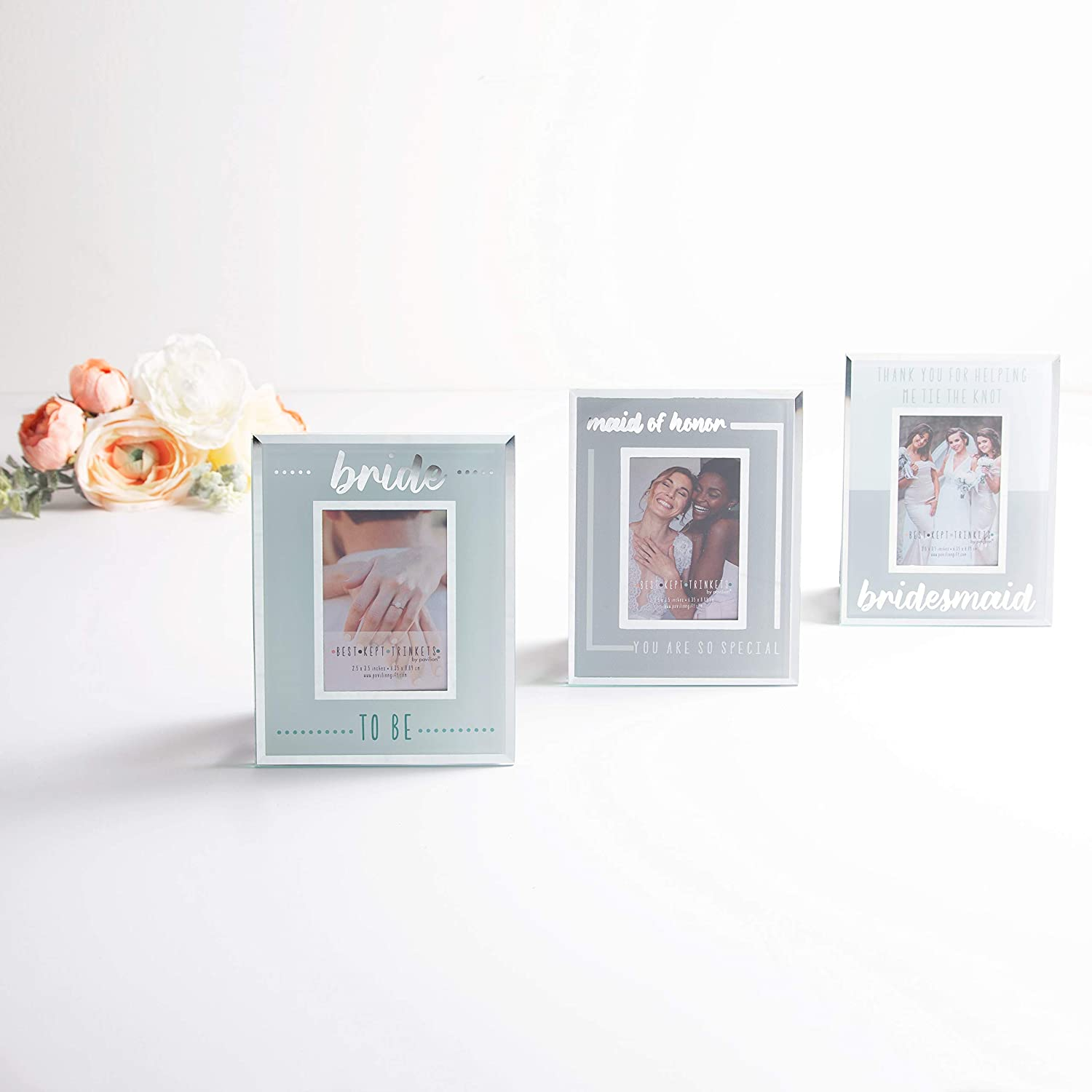 Pavilion Gift Company Maid of Honor You are So Special Silver 2.5x3.5 Polaroid Easel Back Picture Frame
