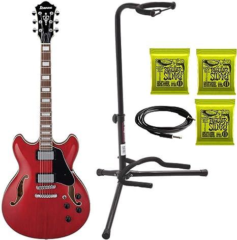 Ibanez AS73 AS Artcore - Guitarra eléctrica semihueca + 3 juegos ...