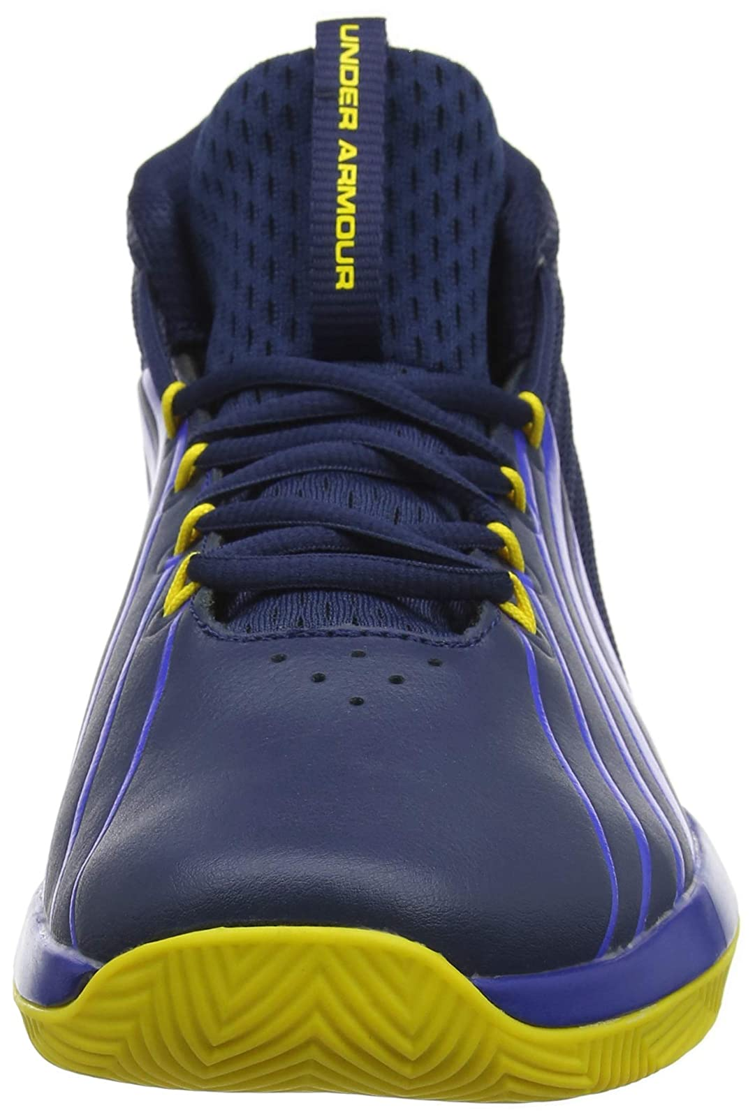Under Armour Men's Launch Basketball Shoe 3020622 Academy (400)/Royal - 4