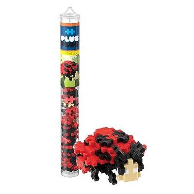 PLUS PLUS – Mini Maker Tube – Ladybug – 70 Piece, Construction Building STEM | STEAM Toy, Interlocking Mini Puzzle Blocks for Kids: Toys & Games