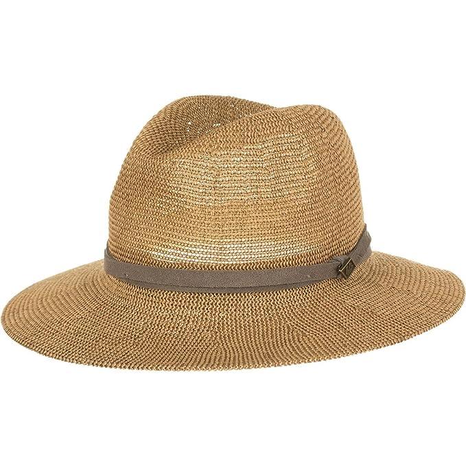 9598cbb9 Goorin Bros. Women's Fatima Wide Brim Paper Blend Fedora Hat: Amazon.ca:  Clothing & Accessories