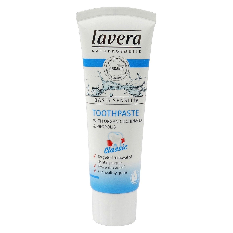 LAVERA - Zahnpasta Echinacea und Propolis - Schutz und beruhigend für die ganze Mundhöhle - beugen Karies - 75 ml Yumi Bio Shop