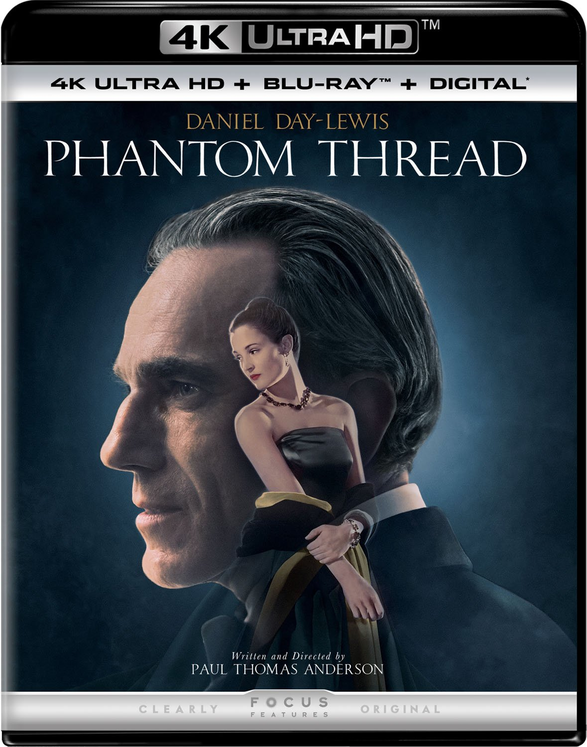 4K Blu-ray : Phantom Thread (With Blu-Ray, 4K Mastering, 2 Pack, 2PC)