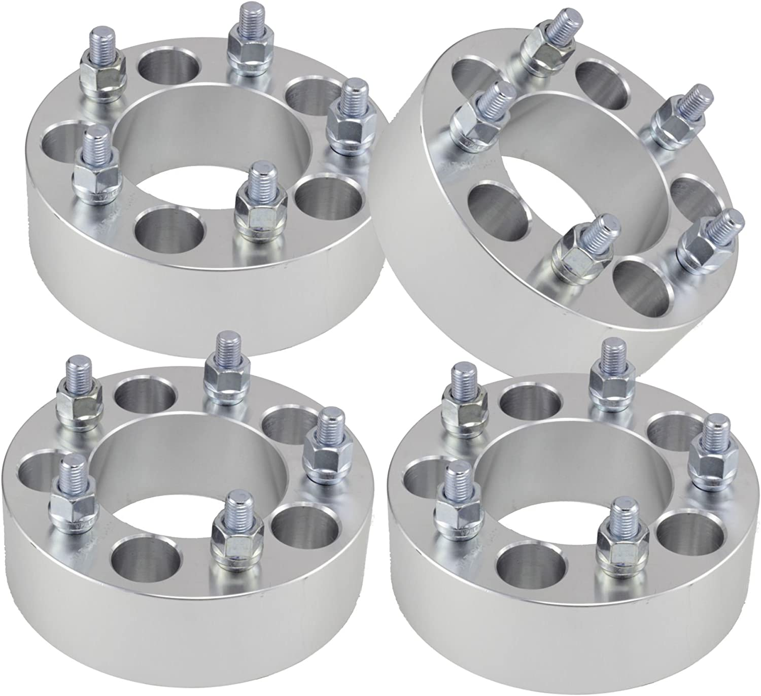 5x5 TO 5x4.75 WHEEL ADAPTERS SPACERS 1.5 INCH 38MM THICK 5x5.5 TO 5x4.75 12x1.5