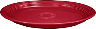 product image for Fiesta 19-1/4-Inch Serving Platter, Scarlet