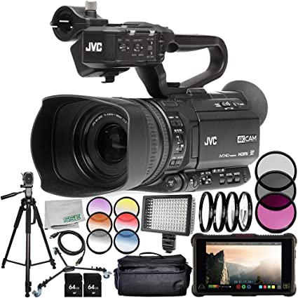 Amazon.com : JVC GY-HM180 Ultra HD 4K Camcorder with Atomos ...