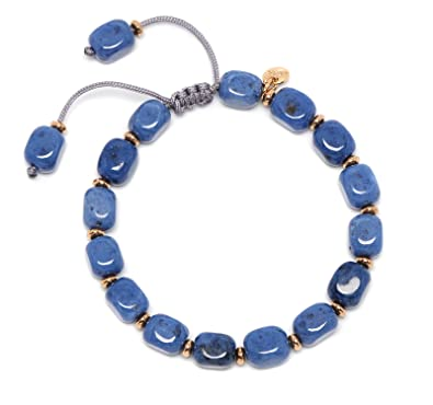 Lola Rose Women Blue Coral Quartz Strand Bracelet of Length 18cm 693875
