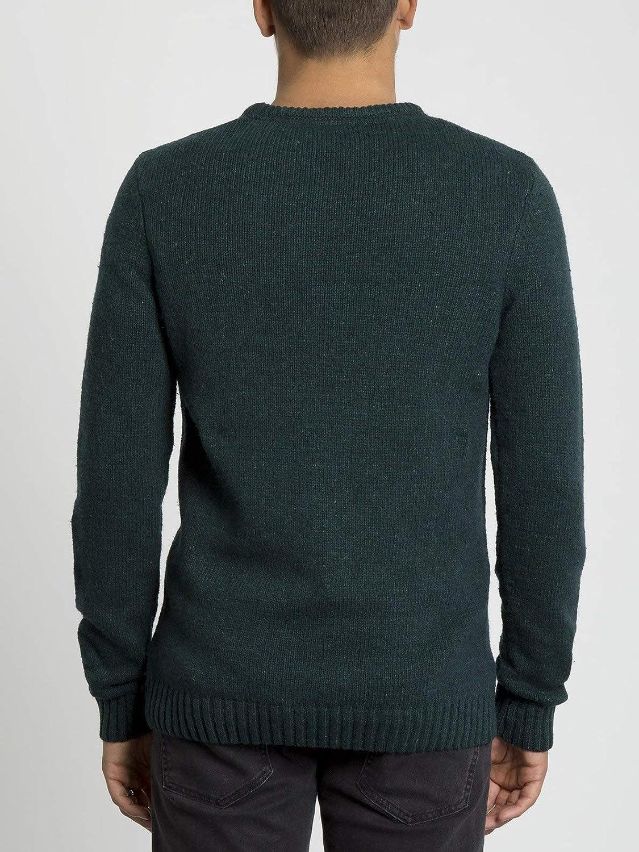 Volcom Herren Edmonder Sweater Sweatshirt Immergrün