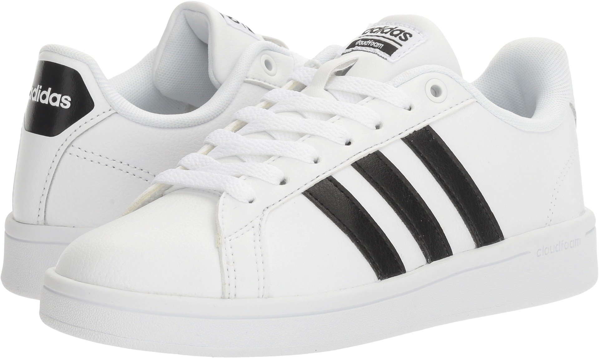 ویکالا · خرید  اصل اورجینال · خرید از آمازون · adidas Women's Shoes | Cloudfoam Advantage Sneakers, Black/White, (7 M US) wekala · ویکالا