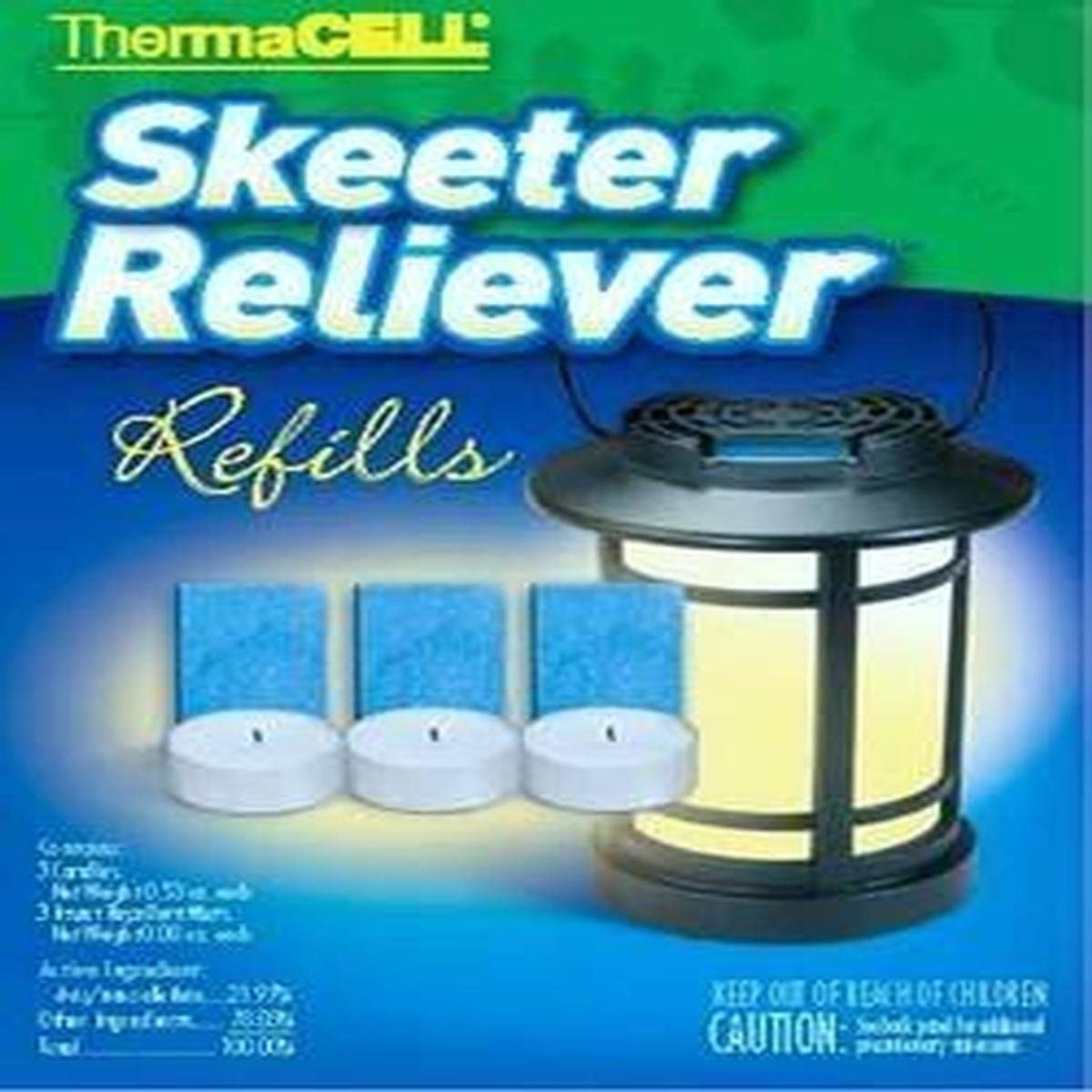 New ThermaCell Skeeter Reliever SR-1 Refills 4