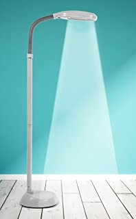 Natural Daylight Floor Lamp: Kenley Natural Daylight Lamp - Floor Standing Reading Task Light - 27-watt  Full Spectrum,Lighting