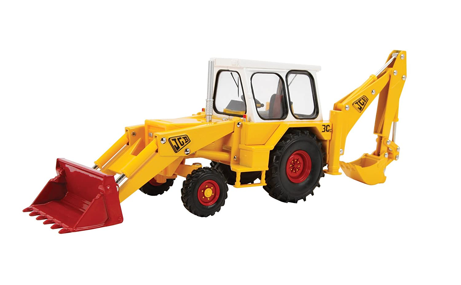 Britains 1:32 JCB 3C Mark III - Collectable Farm Vehicle Tractor Toy