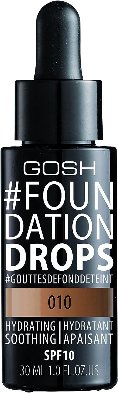 Gosh Copenhagen Foundation Drops 10 Tan