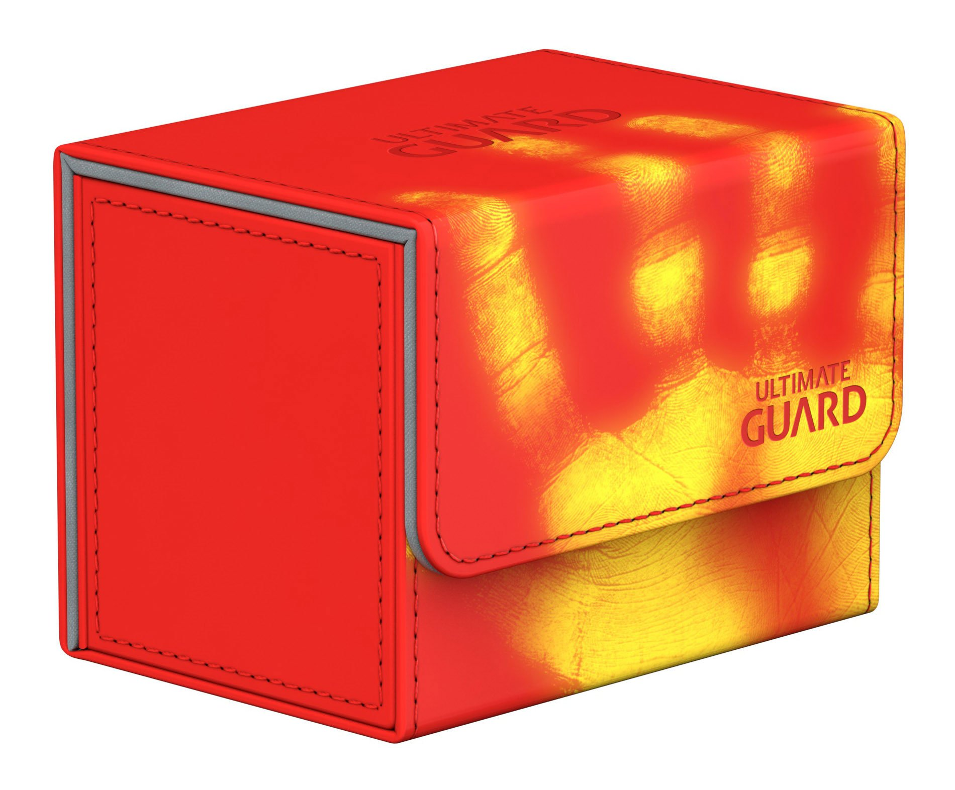 Ultimate Guard Deck Box: Sidewinder 80+ ChromiaSkin Red by Ultimate Guard